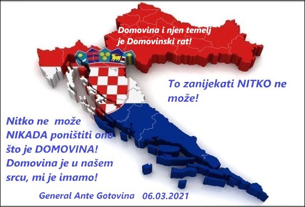 Snažna poruka generala Ante Gotovine svima
